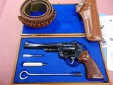 Smith & Wesson Model 29 With Presentation case and Holster