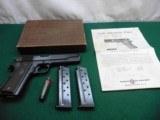 Colt .38 Super - 1968 - w/ box and manual