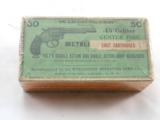 Winchester 45 Colt Shot Shells Picture Box of 1878 Colt Pistol - 1 of 3
