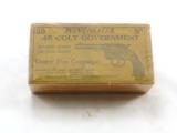 Winchester Picture Box of Colt New Service Pistol 45 Schofield