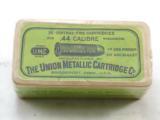 Union Metalic Cartridge Co. 44 W.C.F. Early Black Powder - 1 of 3