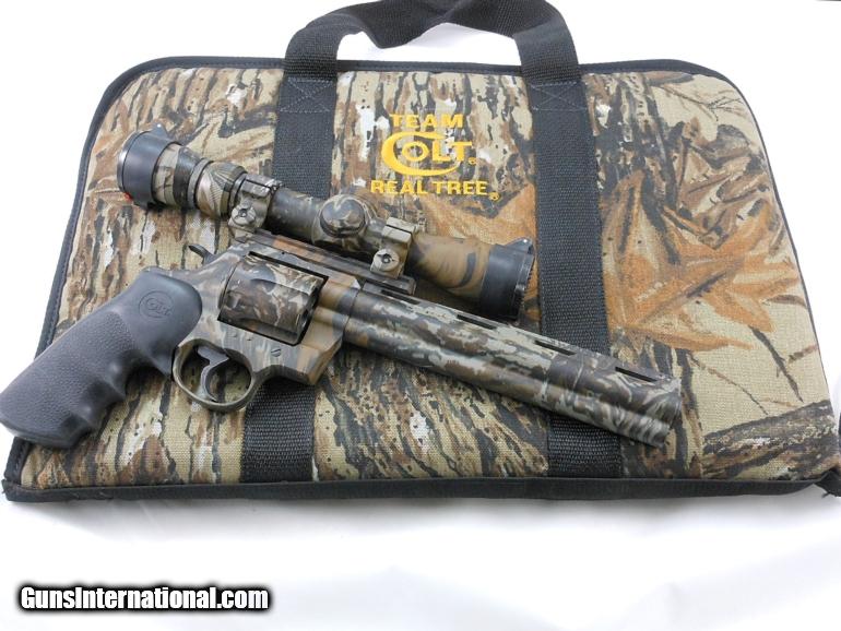 Colt Anaconda Real Tree With Pistol Scope 44 Magnum