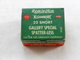 Remington 22 Short Gallery Special Boxed Shells - 1 of 3