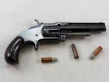 Smith & Wesson Model 1 And 1/2 Second Issue Bottom Break 32 Rim Fire Pistol - 1 of 9
