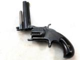 Smith & Wesson Model 1 And 1/2 Second Issue Bottom Break 32 Rim Fire Pistol - 4 of 9