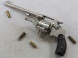 Smth & Wesson 32 Hand Ejector Third Model Factory Nickel Plated - 1 of 12
