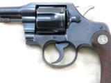 Colt 1931 Official Police In 22 Long Rifle With Factory Letter - 6 of 12