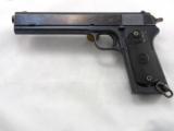 Colt Model 1902 Military Long Slide With Factory Letter