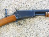 Rare Winchester 1890 Rifle In 22 Long Rifle - 6 of 21