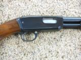 Winchester Model 61 Pump 22 With Grooved Top - 9 of 12