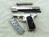 Colt Model 1903 Pocket Hammerless In Factory Nickel Finish - 10 of 10