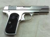 Colt Model 1903 Pocket Hammerless In Factory Nickel Finish - 3 of 10