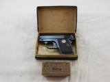 Colt Model 1908 In 25 A.C.P. With Original Box