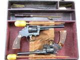 Hartmann N.R.A. Cased Pair of Smith & Wesson Target Revolvers With Accessories