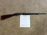 Remington Model 12 A 22 Pump Rifle With Factory Letter