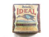 Peters Cartridge Co. Ideal 10 Ga. Blue Teal Two Piece Box