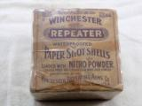 Winchester Repeater Early Two Piece Box In 12 Ga.