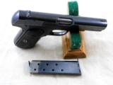 Colt Model 1903 Pocket Hammerless 1920 Production With Reproduction Box - 8 of 11