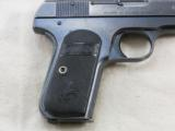 Colt Model 1903 Pocket Hammerless 1920 Production With Reproduction Box - 6 of 11