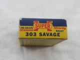 Western Ammunition Co. Super X Bear Box In 303 Savage - 2 of 4