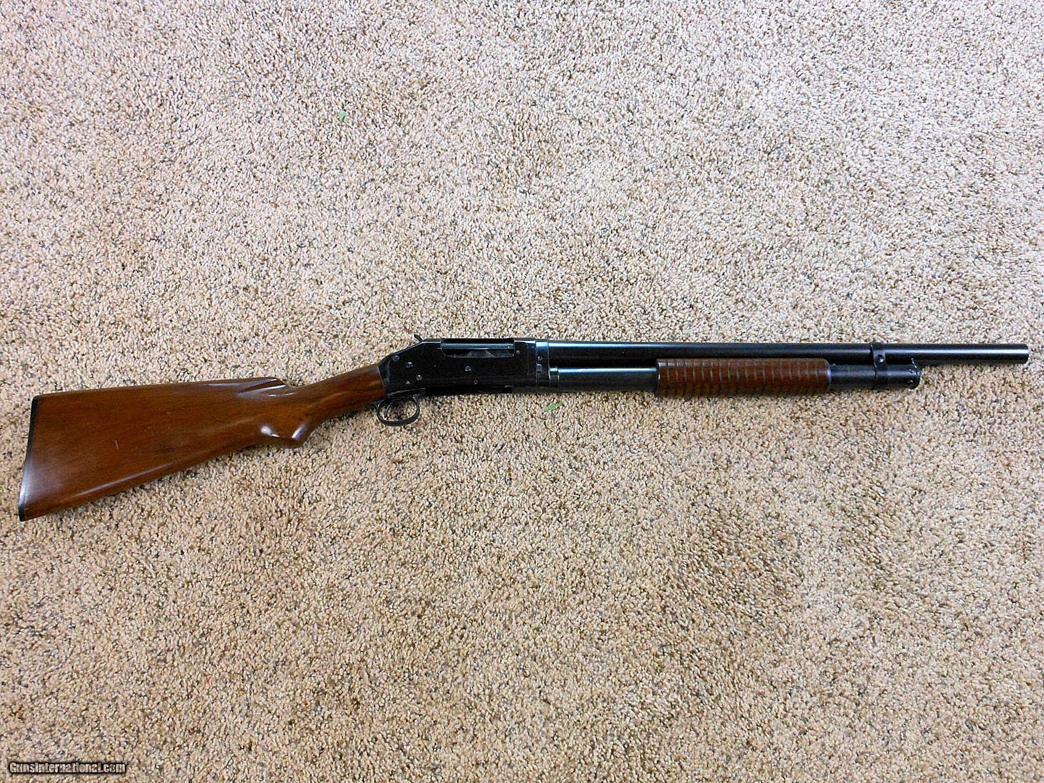 Winchester Model 1897 Factory Take Down Riot Shotgun