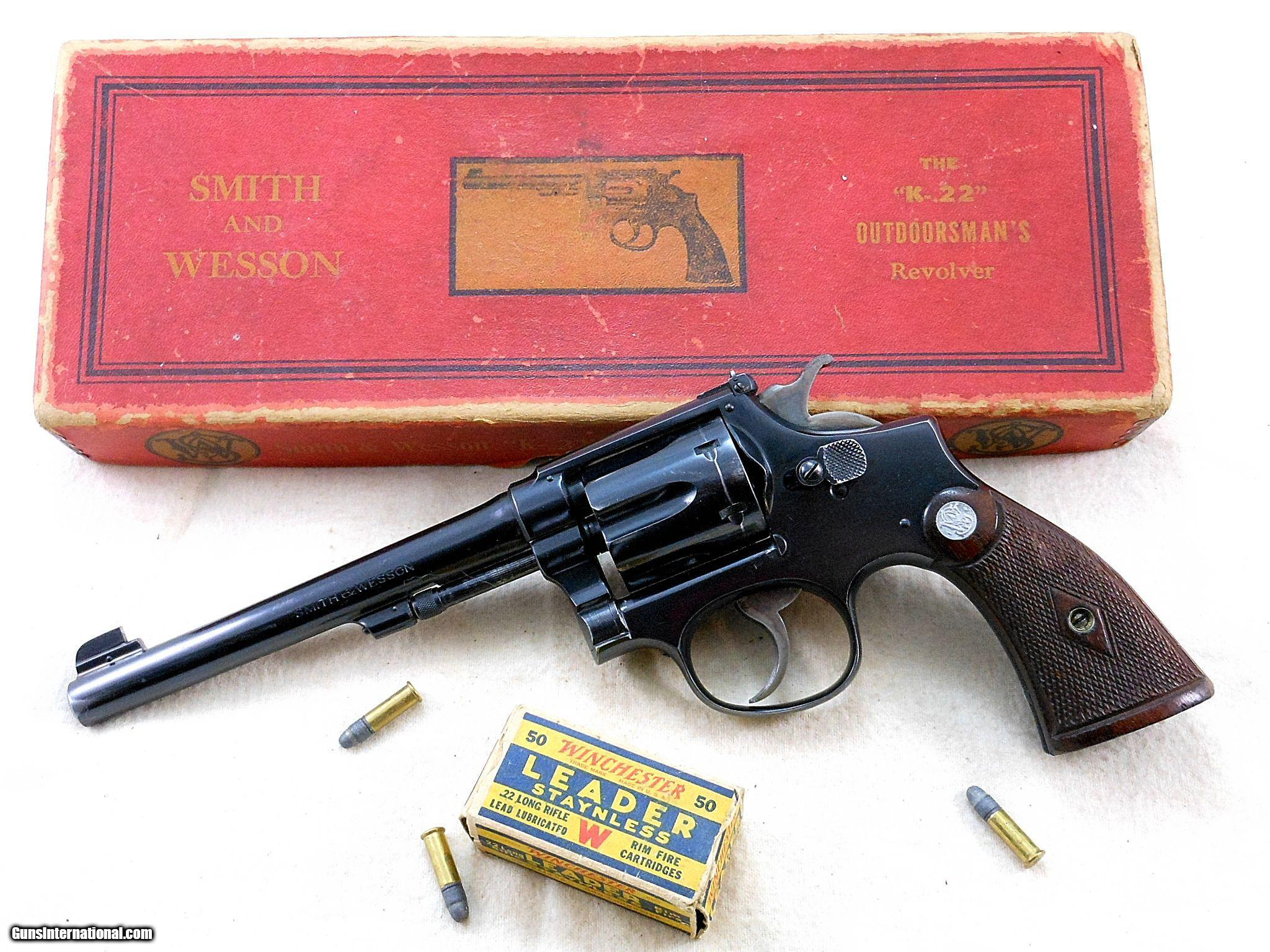 smith and wesson revolver serial number search