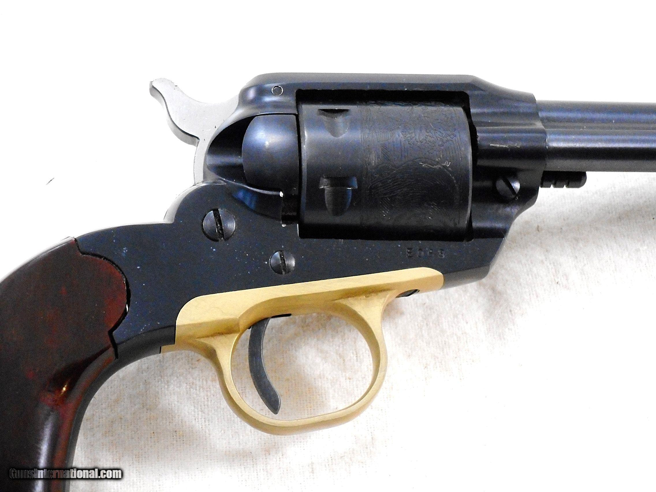 Sturm Ruger And Co  Very Early BearCat 22 Revolver With Box