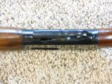 Winchester Model 1907 Police Model Self Loading Rifle In New Condition - 12 of 15