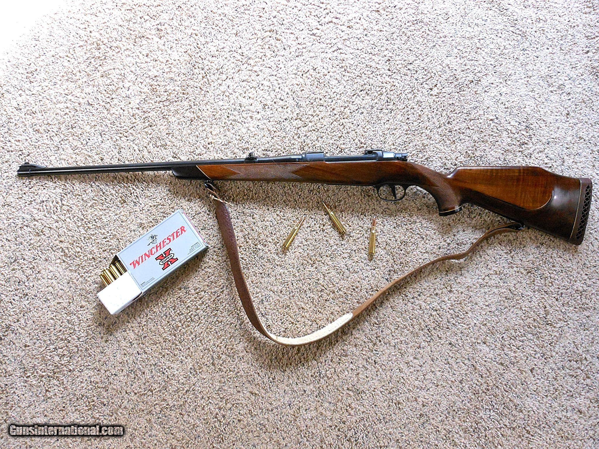 Brno Model ZKK-600 Bolt Action In 7 M/M Mauser With Set Trigger ...