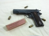 Colt Model 1911 U.S. Army 1919 Production Service Pistol