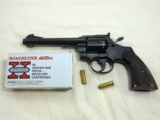 Colt Officers Model Match 38 Special In Factory Single Action Mode Only