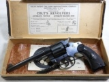 Colt Police Positive Revolver In 32 Colt New Police New With The Original Box