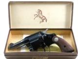 Colt Rare Courier Model Double Action Revolver With Original Box