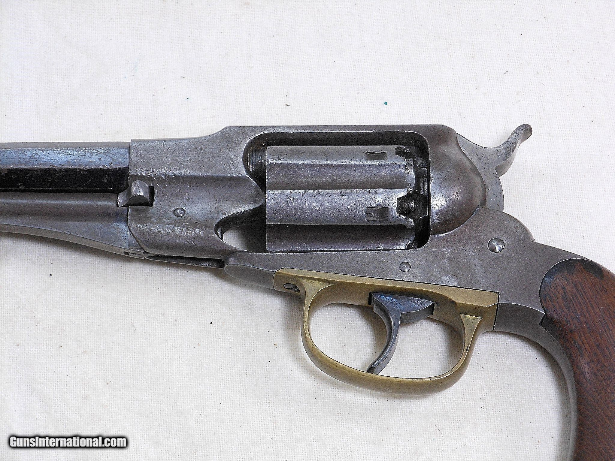 Remington First Issue New Model Double Action Belt Revolver In 36