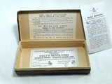 Original Colt Box For Police Positive Special - Detective Special 1928 Era - 4 of 4