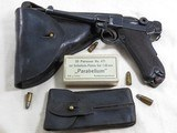 D.W.M. Luger Royal Portugese M2 Army Pistol Rig