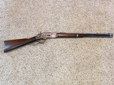 Winchester Model 1873 Saddle Ring Carbine In 44 Winchester Central Fire