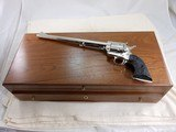 Colt Single Action Army New Frontier Ned Buntline Commemorative With Special Display Case