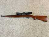 Ruger 44 Magnum Carbine With International Stock