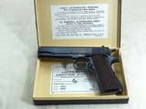 Colt Civilian Model 1911-A1 45 A.C.P. 1930 Production