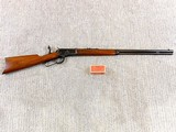 Winchester Model 1892 Standard Rifle In 32 W.C.F. In Near New Condition