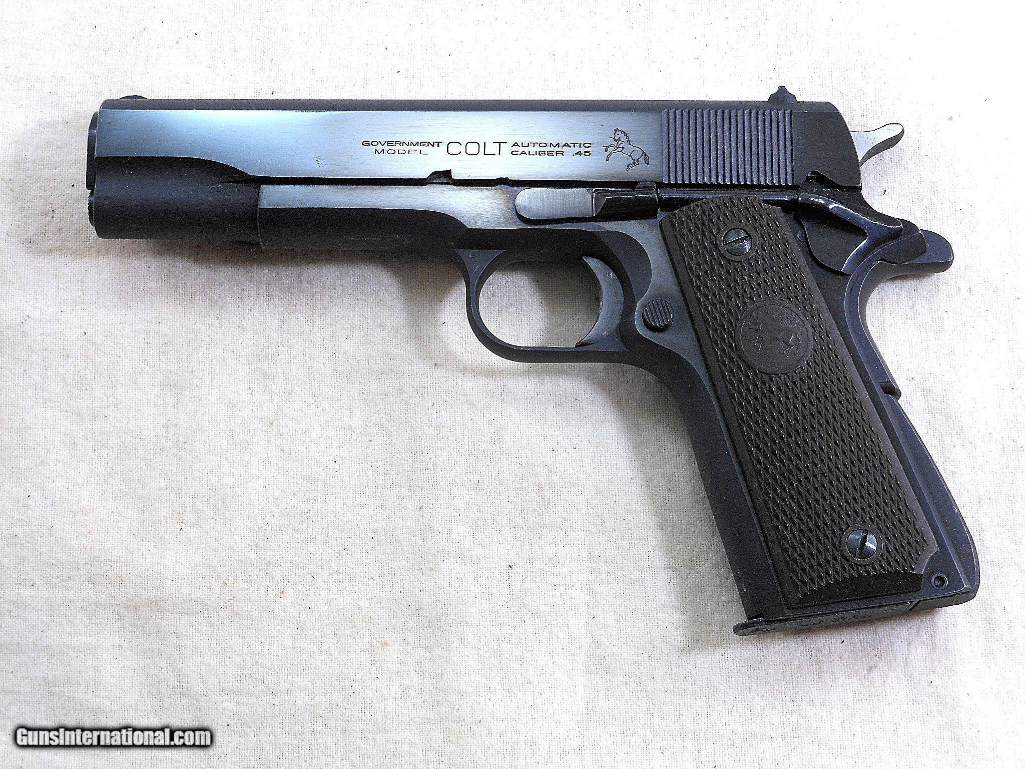Colt Model 1911 A1 Civilian Government Model 45 A C P  1951