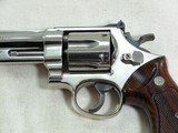 Smith & Wesson Model 27-2 In 357 Magnum With Nickel Finish - 4 of 11