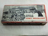 Colt Original Stage Coach Box For 7 1/2 Inch Single Action Armys
