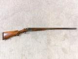 Merkel Side By Side 12 Gauge Model 47 E
