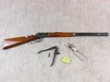 Winchester Model 1892 Standard Rifle In 44 W.C.F.