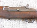 Winchester M1 Garand Rifle In Original Condition - 8 of 23