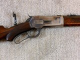 Winchester Deluxe Model 1886 Short Rifle In 33 W.C.F. - 4 of 21
