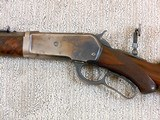Winchester Deluxe Model 1886 Short Rifle In 33 W.C.F. - 8 of 21
