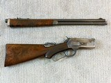 Winchester Deluxe Model 1886 Short Rifle In 33 W.C.F. - 21 of 21